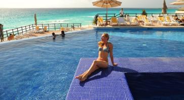 Alberca Grand Oasis Sens Cancun
