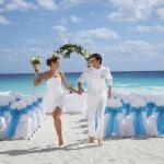 boda en Hotel Barcelo Tucancun Beach - Todo Incluído