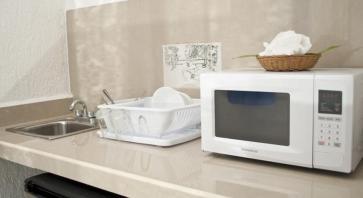 cocina en Eco-hotel El Rey del Caribe Cancún