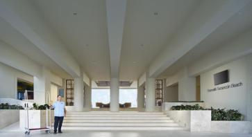 entrada Hotel Barcelo Tucancun Beach - Todo Incluído