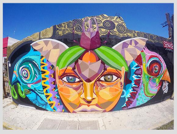 Murales isla Mujeres