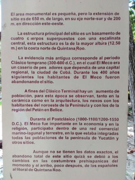 Zona arqueologica el Meco