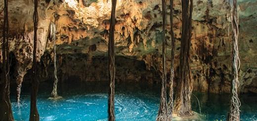 Cenote Lu'um Puerto Morelos