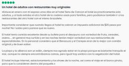 comentarios hotel sadultos cancun