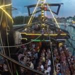 Capitán Hooks tour nocturno cancun