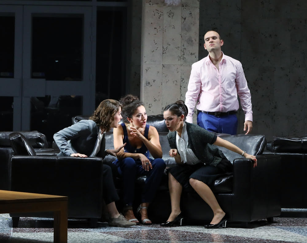 Frasquita, Carmen, Bizet, Aix en Provence 2017 with Michael Fabiano, Stéphanie d'Oustrac and Virginie Verrez