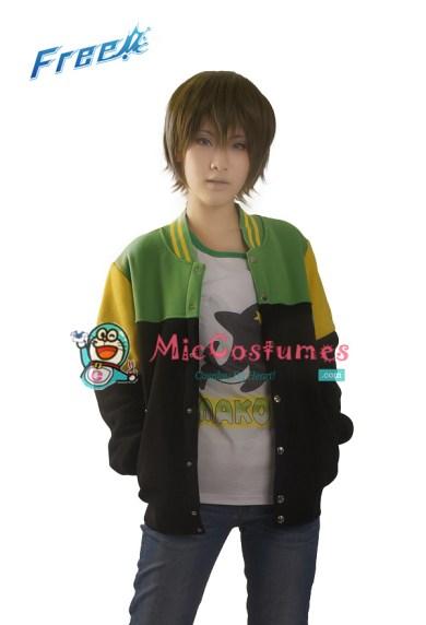 Free! Iwatobi Swim Club Makoto Tachibana Cosplay Coat