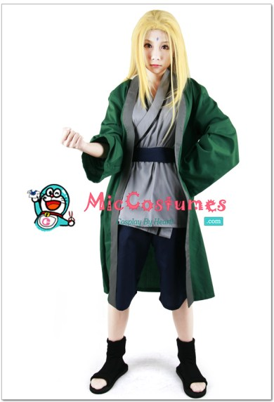 Naruto_Green_Tsunade_Cosplay_costume_x1