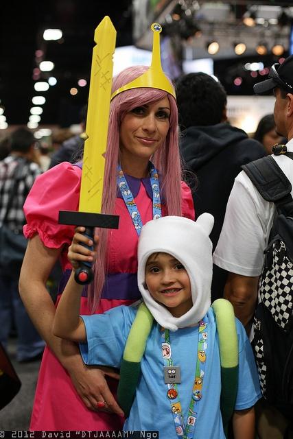 Princess Bubblegum and Finn