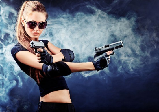 coser with guns