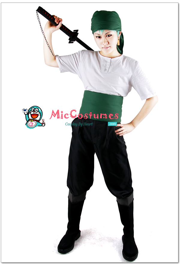 One Piece Roronoa Zoro Cosplay Shoes For Sale
