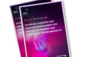 MCI Deutschland präsentiert aktuelle Studie zur Akzeptanz virtueller Events