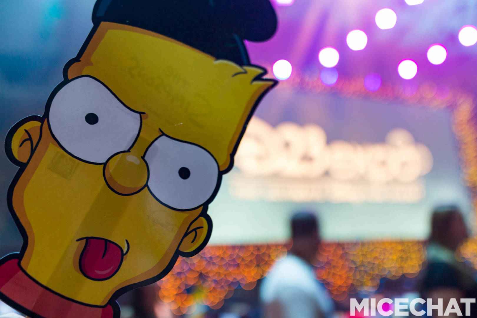 The Simpsons Awkwardly Join The Disney Family At The D23 Expo