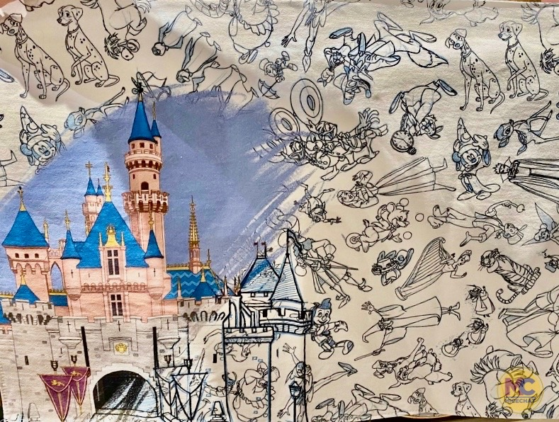 Apparel And Decor Become Art With The New Disneyland Ink Paint Collection