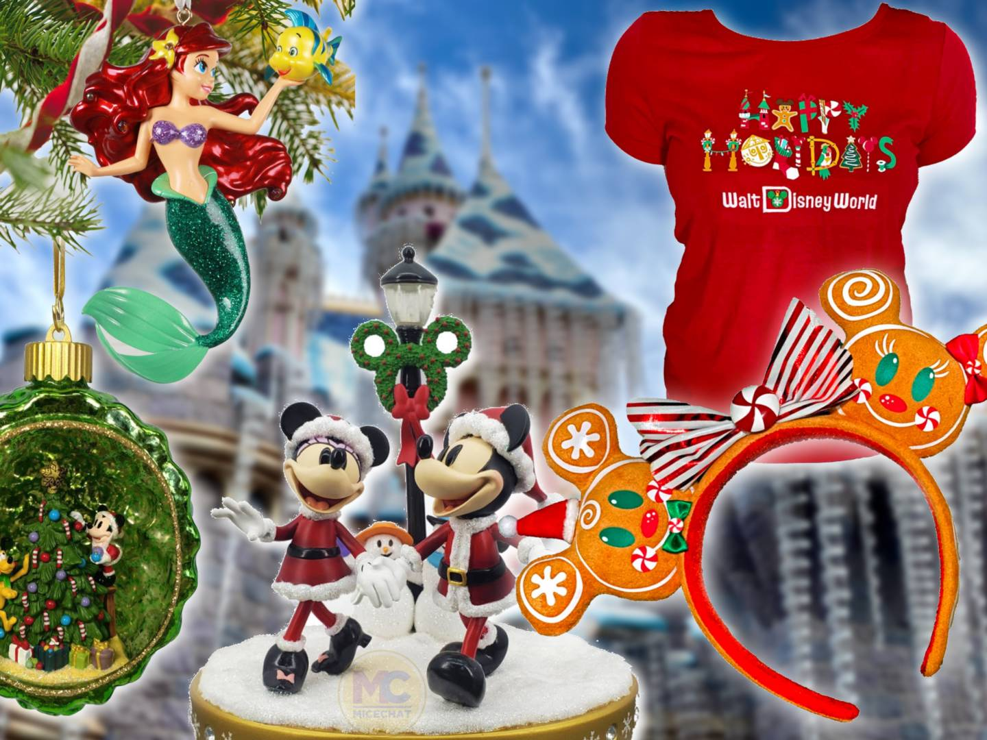 Disneyland Christmas Merchandise 2020 Unseasonal Greetings! All New Disney 2020 Holiday Merch