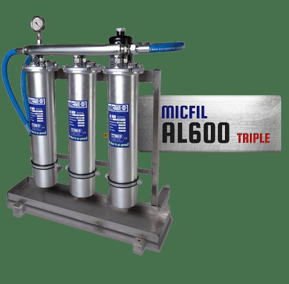 MicFil oliefilter - brandstoffilter