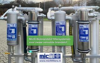 Biobrandstof filtersystemen