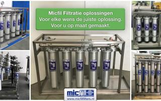 Micfil filtratie oplossingen