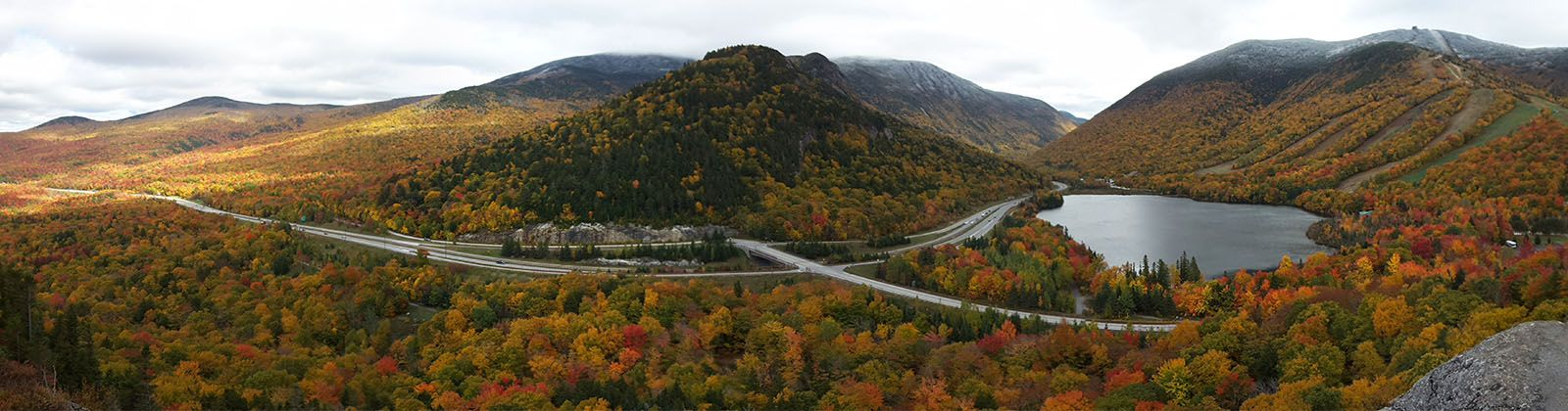 Fanconia notch Pano from Artist Bluff October 2016