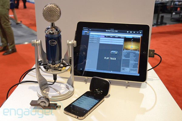 Blue Microphones Tiki, Mikey Digital and Spark Digital hands-on -- Engadget