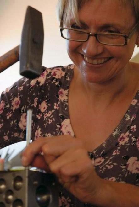 Goldschmiedekünstlerin Birgit Zimmer