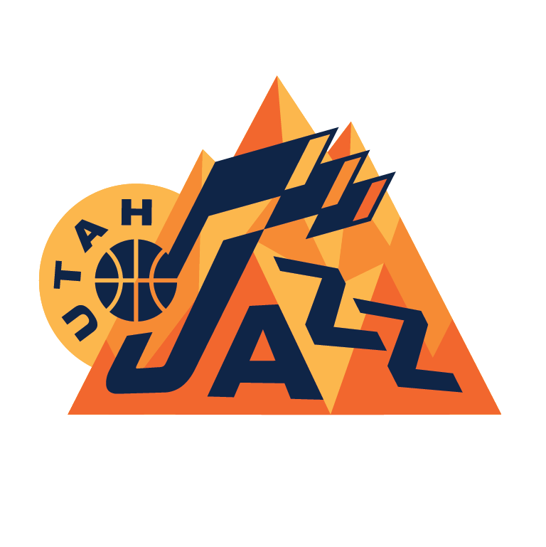 Michael Weinstein NBA Logo Redesigns
