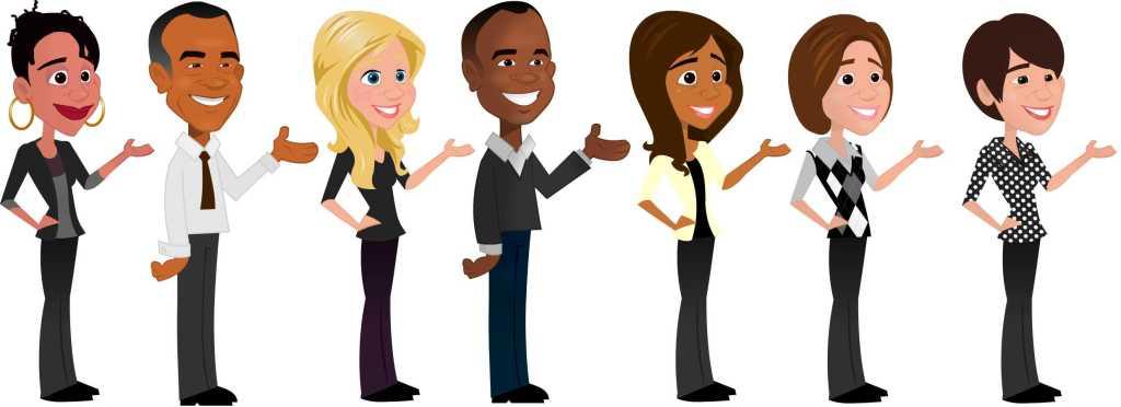 diversity-caricatures
