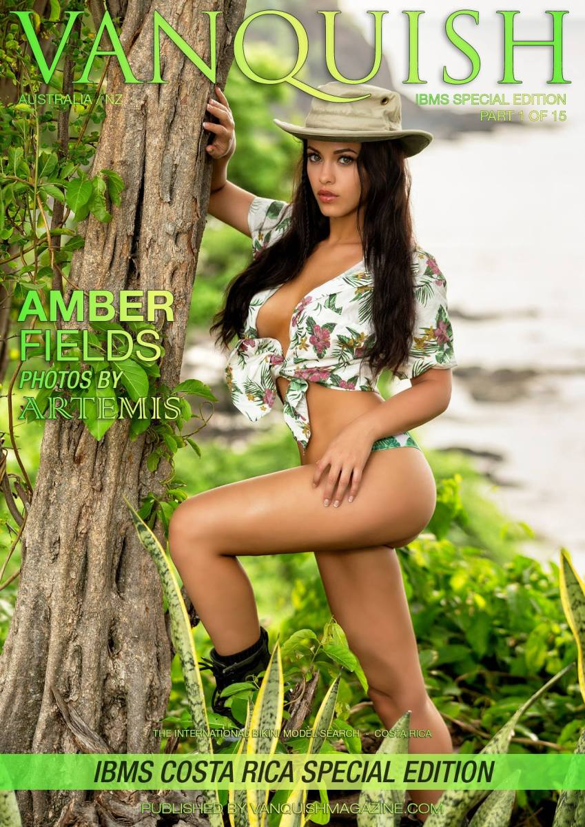 ***New VANQUISH Cover*** Featuring Amber Fields