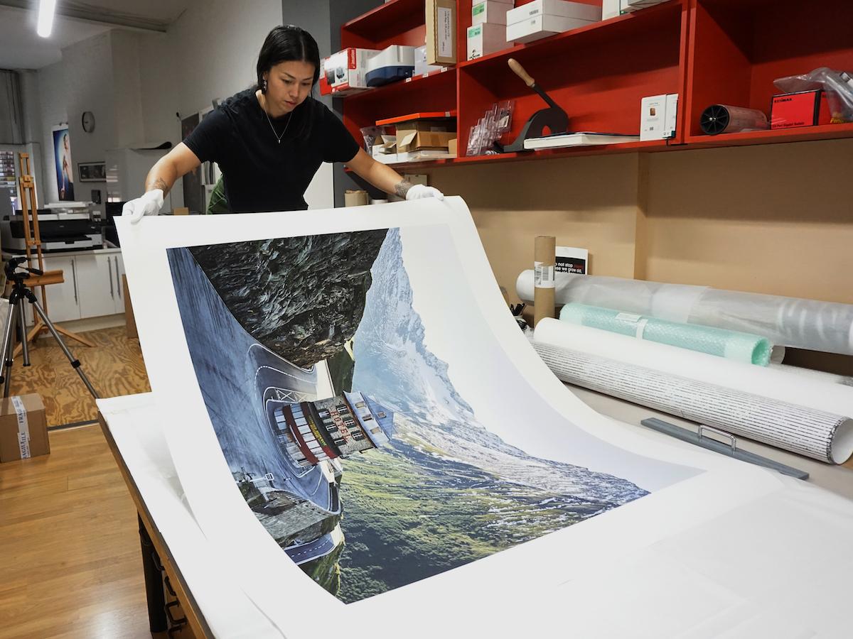 Furka Pass Print