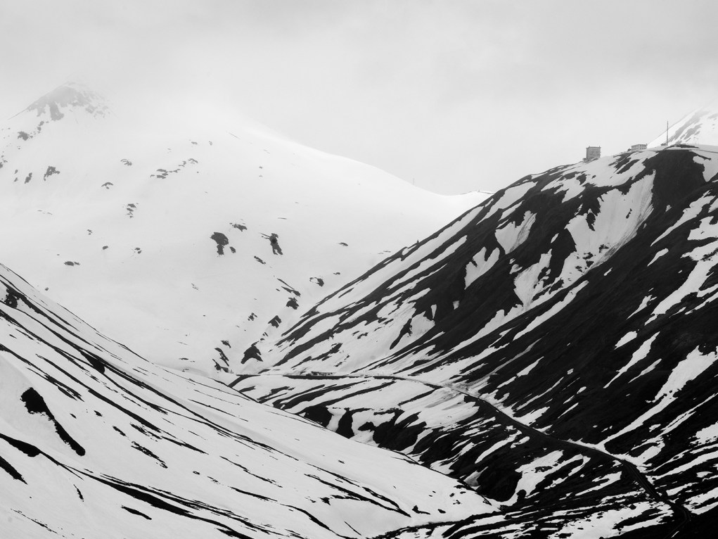 Furka Pass Snow