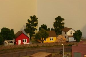 Another shot of the neighborhood across the tracks.