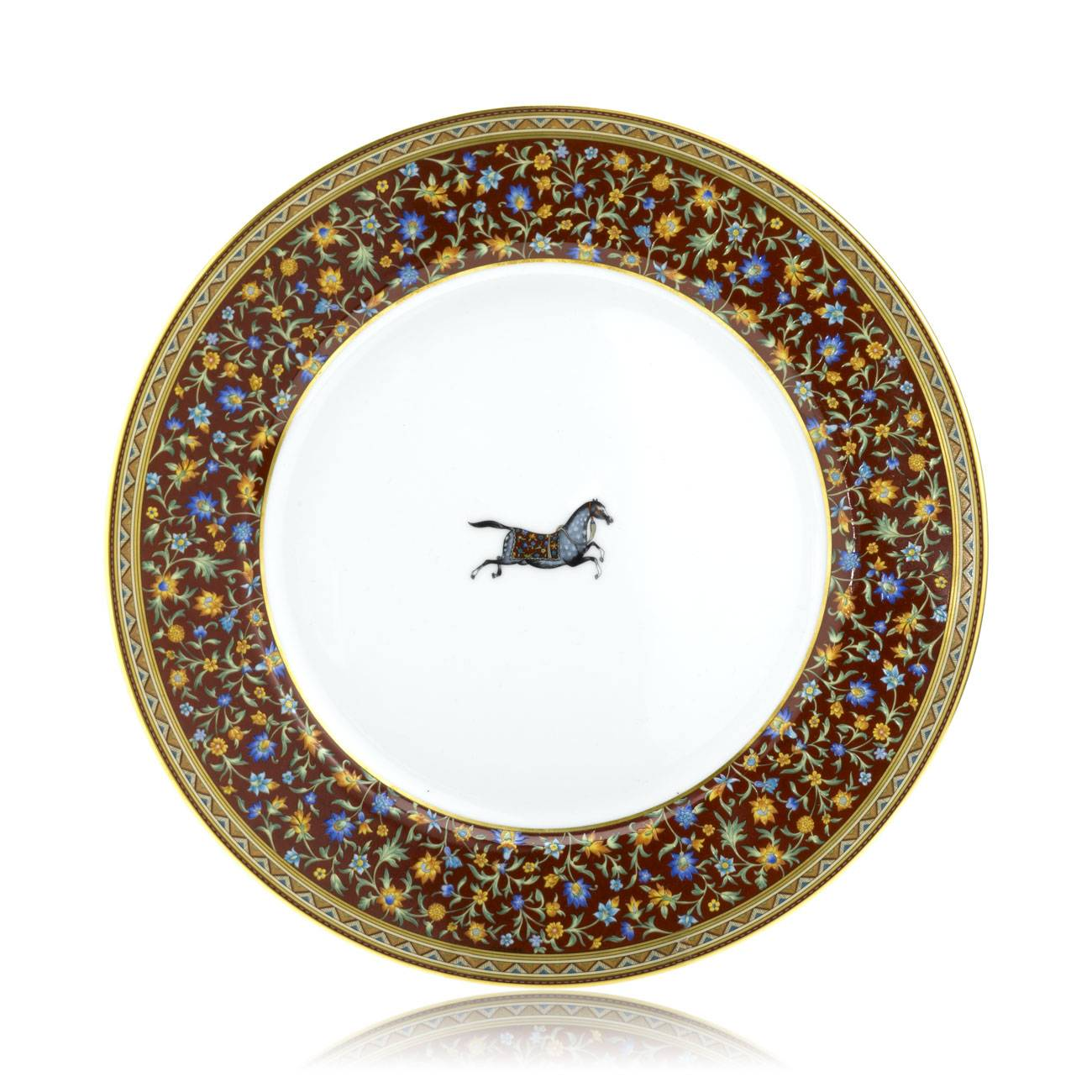 Herms Cheval D'Orient Dinner Plate
