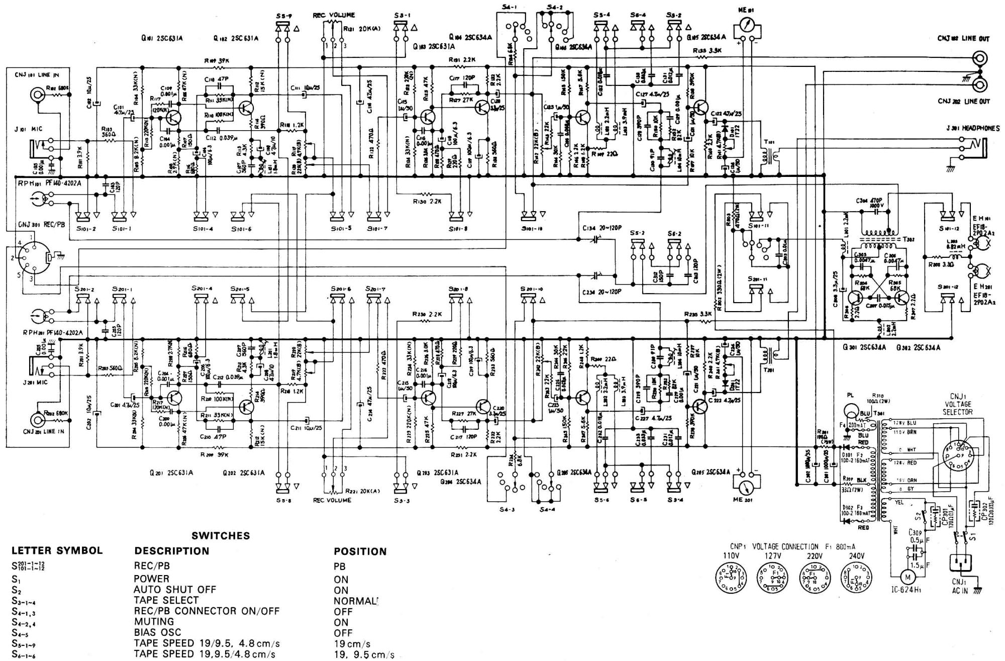 hight resolution of sony tc 280 tape recorder circuit diagram ezwt100 sony circuit diagram sony circuit diagram