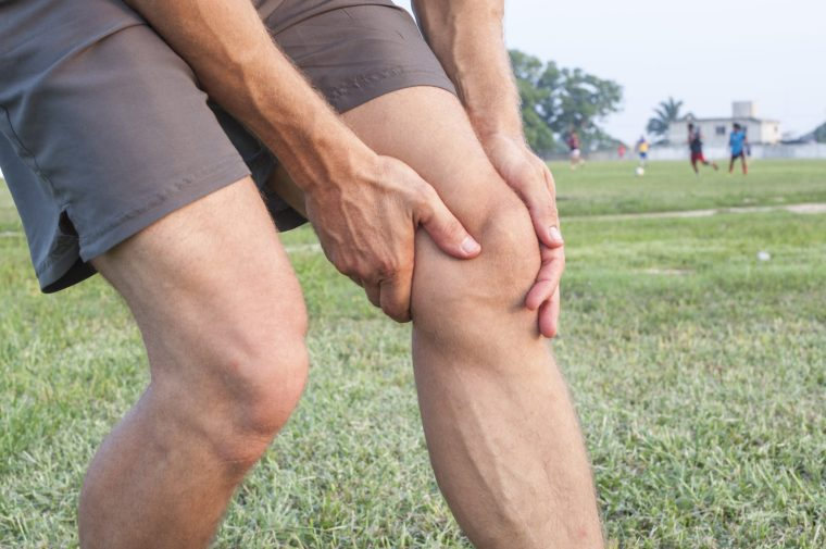 Man with Meniscus Tear