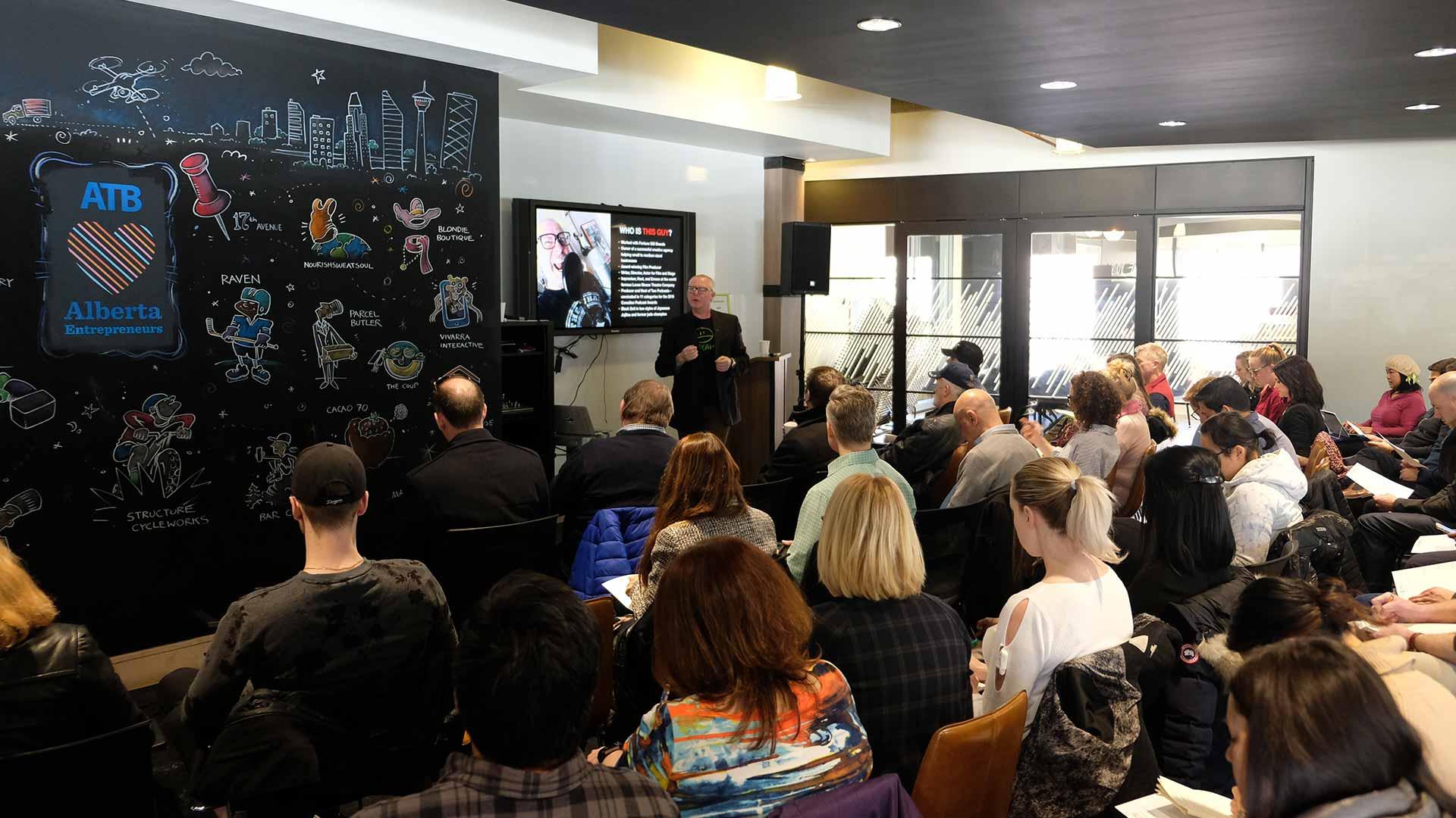 BrandJitsu Talk at ATB Entrepreneur Centre