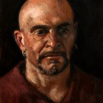 Portrait of Eric, 2011, oil on panel, 12x16in (30x40cm)