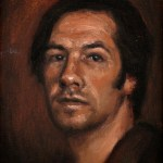 Self-Portrait, 2011, oil on linen, 5x7in (12.7x17.8cm)