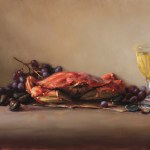 The Crab, 2013, oil on linen, 16x24in (40x61cm)