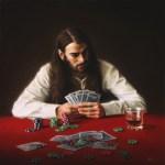 The Gambler, 2014, oil on linen, 30x30in (76x76cm)
