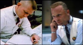 The real Gene Kranz on the left.