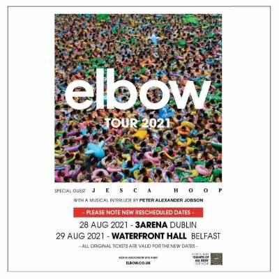 Elbow 3 arena concert bus