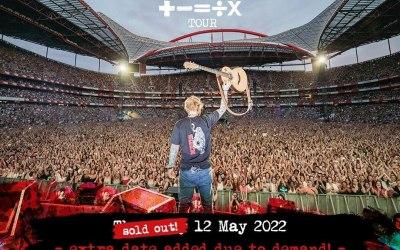 Ed Sheeran, Boucher Rd Belfast. Friday 13th May 2022
