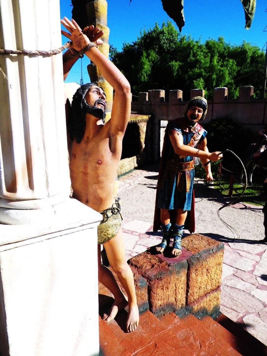 THE CRUCIFIXION AT A RELIGIOUS THEME PARK  Michael From Perth