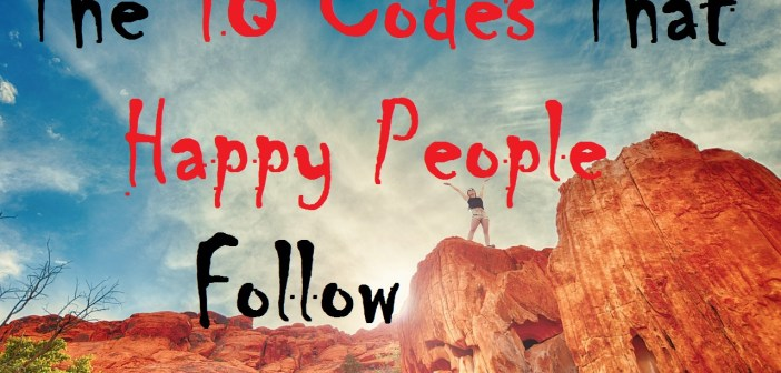 The 18 Codes Happy People Follow