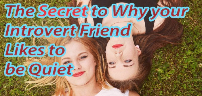 The Secret to Why your Introvert Friend Likes to be Quiet
