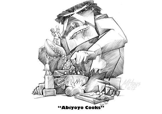 Kid's Draw Their Own Versions of Abiyoyo
