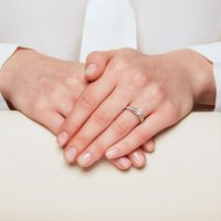 Engagement Ring with 1.11 Carat TW of Diamonds in 14kt ...