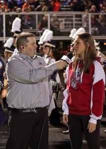 Interviewing Micaela Powers for RTV32