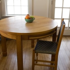 Kitchen Tables Round Remodels With White Cabinets Michael Hoy Woodworking Table Picture 1
