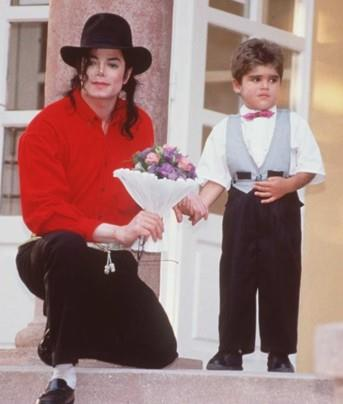 MJ and Bella Farcas in 1996